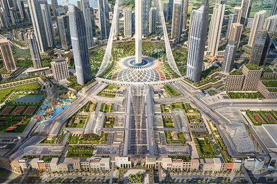 UAE sắp xây trung tâm mua sắm rộng bằng 100 sân bóng đá - Ảnh 1.