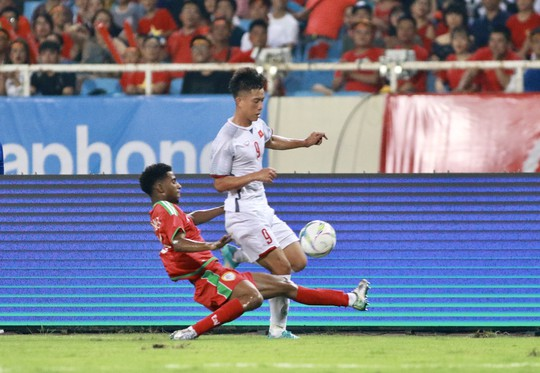 Văn Hậu ghi bàn đẹp mắt, Olympic Việt Nam sớm vô địch - Ảnh 1.