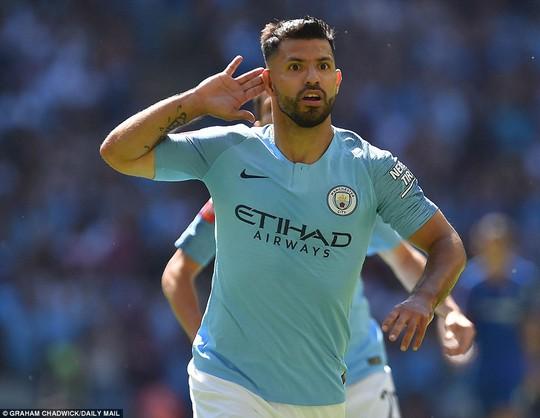 Aguero lập đại công, Man City đoạt Siêu cúp nước Anh - Ảnh 6.