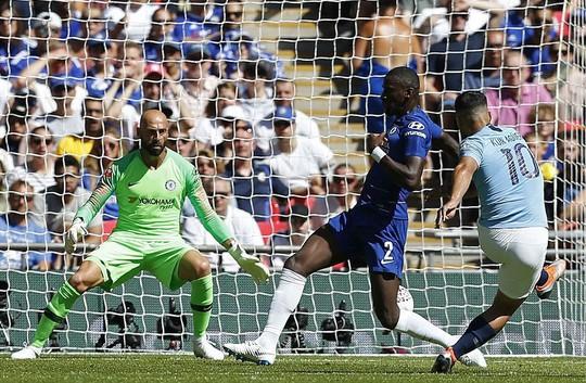 Aguero lập đại công, Man City đoạt Siêu cúp nước Anh - Ảnh 2.