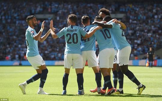 Aguero lập đại công, Man City đoạt Siêu cúp nước Anh - Ảnh 3.