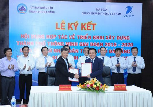 Đà Nẵng và Tập đoàn VNPT hợp tác phát triển đô thị thông minh