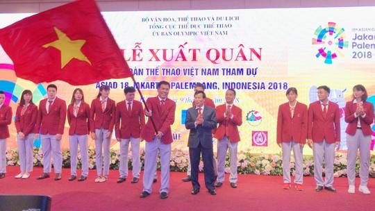 Đoàn thể thao Việt Nam xuất quân dự ASIAD - Ảnh 1.
