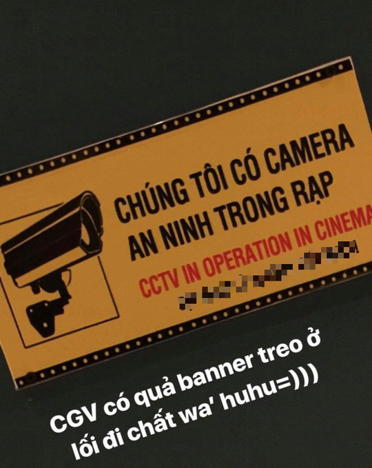Xôn xao việc CGV thông báo có camera trong rạp phim - Ảnh 3.