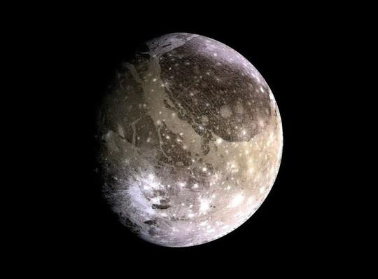 Cận cảnh mặt trăng lớn nhất của Sao Mộc - ảnh: NASA