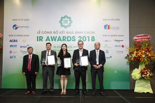 Kết quả bình chọn DN có hoạt động IR tốt nhất 2018 - Ảnh 3.