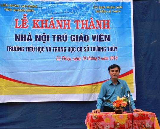 Quảng Bình: Trao Mái ấm Công đoàn cho giáo viên ở vùng sâu - Ảnh 1.