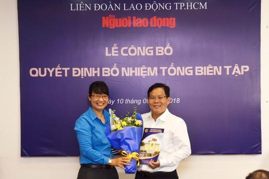 Ông Tô Đình Tuân làm Tổng Biên tập Báo Người Lao Động - Ảnh 1.