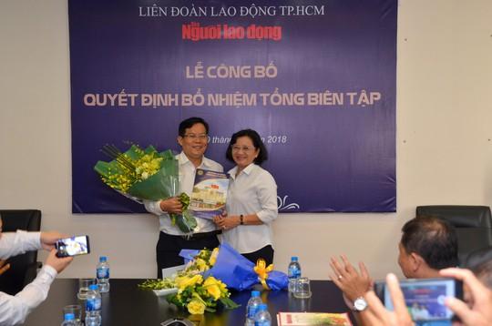 Ông Tô Đình Tuân làm Tổng Biên tập Báo Người Lao Động - Ảnh 2.