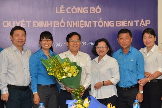 Ông Tô Đình Tuân làm Tổng Biên tập Báo Người Lao Động - Ảnh 3.