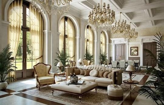 10 mẫu thiết kế phòng khách sang trọng bậc nhất năm 2018 - Ảnh 3.