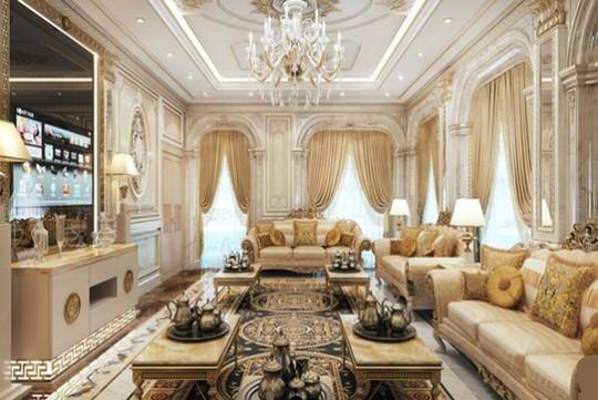 10 mẫu thiết kế phòng khách sang trọng bậc nhất năm 2018 - Ảnh 4.