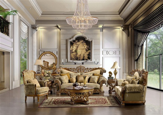 10 mẫu thiết kế phòng khách sang trọng bậc nhất năm 2018 - Ảnh 5.