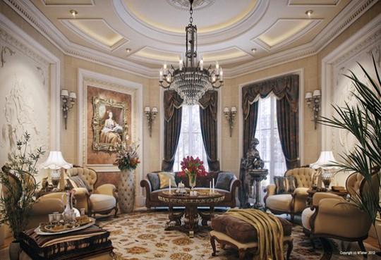 10 mẫu thiết kế phòng khách sang trọng bậc nhất năm 2018 - Ảnh 6.