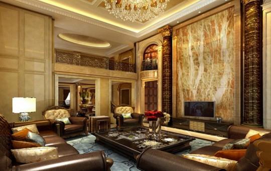 10 mẫu thiết kế phòng khách sang trọng bậc nhất năm 2018 - Ảnh 7.