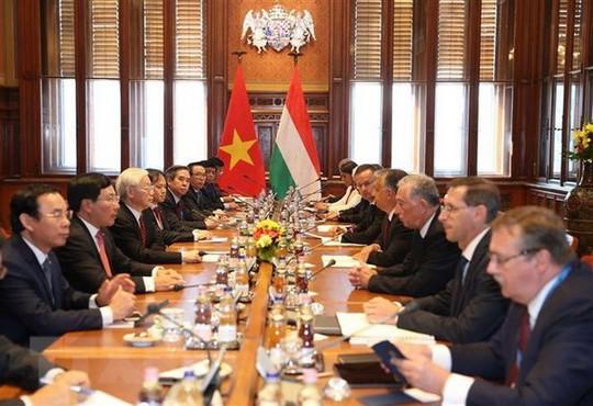 Việt Nam - Hungary nâng quan hệ lên Đối tác toàn diện - Ảnh 1.