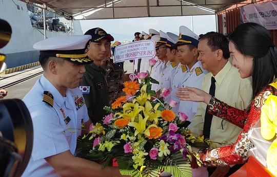 Tàu Hải quân Hàn Quốc lần thứ hai thăm TP Đà Nẵng - Ảnh 1.