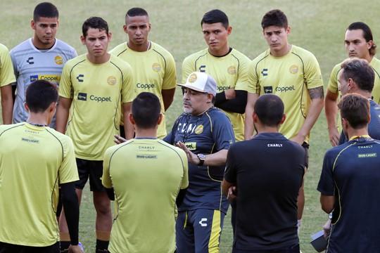 Diego Maradona sang Mexico làm HLV đội bóng… giải Hạng nhì - Ảnh 5.