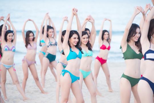 Thí sinh Hoa hậu Việt Nam 2018 nóng bỏng trong MV Thiên đường là em - Ảnh 4.
