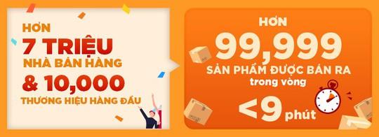 Shopee 9.9 Ngày Siêu Mua Sắm đạt hơn 5,8 triệu đơn đặt hàng chỉ trong 24 giờ - Ảnh 2.