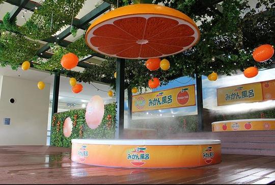 Spa Nhật cho khách tắm trong rượu vang, nước cam - Ảnh 6.
