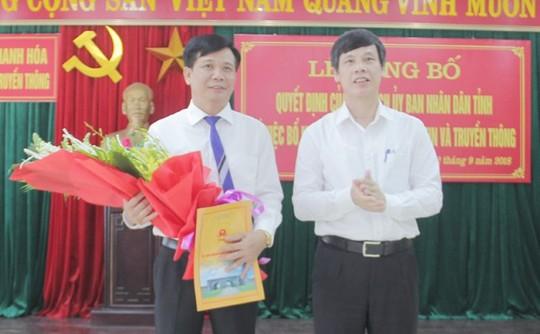 Ông Đỗ Hữu Quyết làm giám đốc Sở Thông tin và Truyền thông tỉnh Thanh Hóa - Ảnh 1.