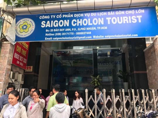 Công ty bị tố quỵt tiền khách mua tour