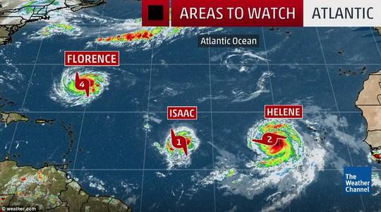 """9 cơn bão xuất hiện cùng lúc, chuyên gia cảnh báo điểm """"bất thường"""" - Ảnh 2."""