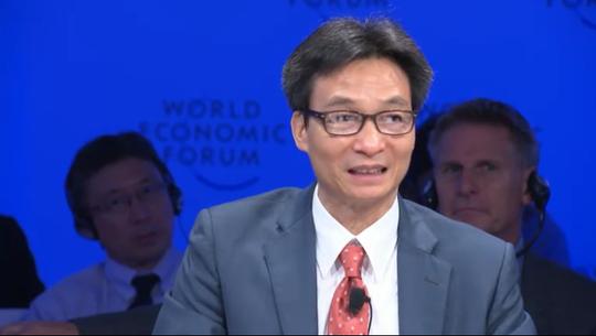 Phó Thủ tướng Vũ Đức Đam nói về chương trình sách giáo khoa mới tại WEF ASEAN - Ảnh 2.