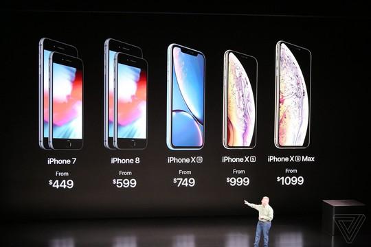Đã mắt có iPhone XR, XS và XS Max vừa được Apple tung ra phân khúc - Ảnh 4.