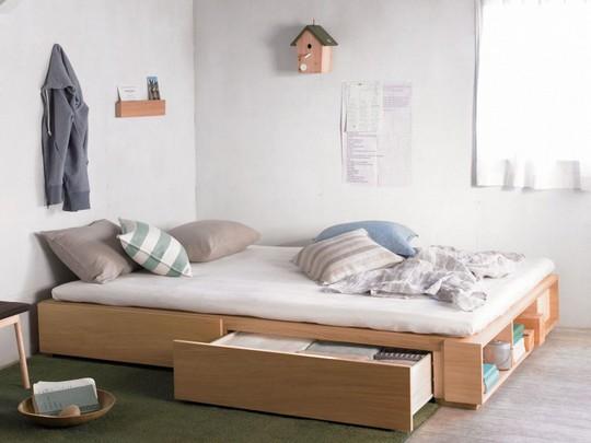 Thiết kế hiện đại, thông minh cho phòng ngủ nhỏ dưới 10m2 - Ảnh 1.