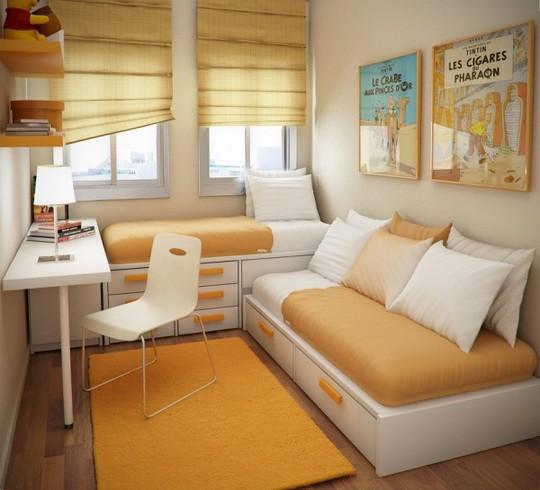 Thiết kế hiện đại, thông minh cho phòng ngủ nhỏ dưới 10m2 - Ảnh 3.