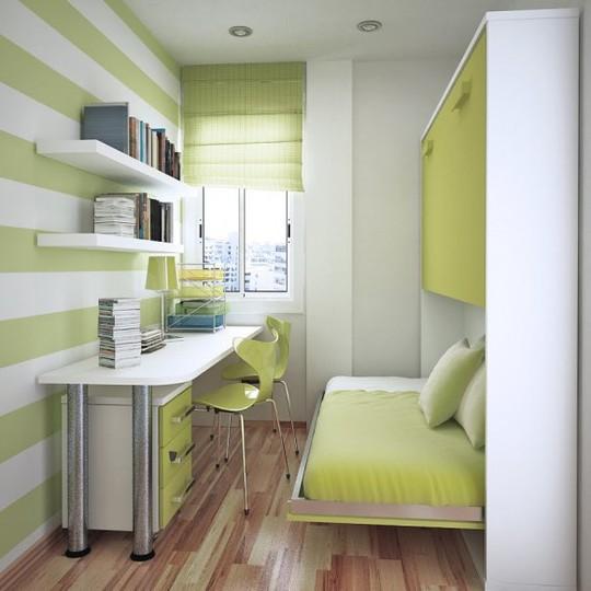 Thiết kế hiện đại, thông minh cho phòng ngủ nhỏ dưới 10m2 - Ảnh 4.