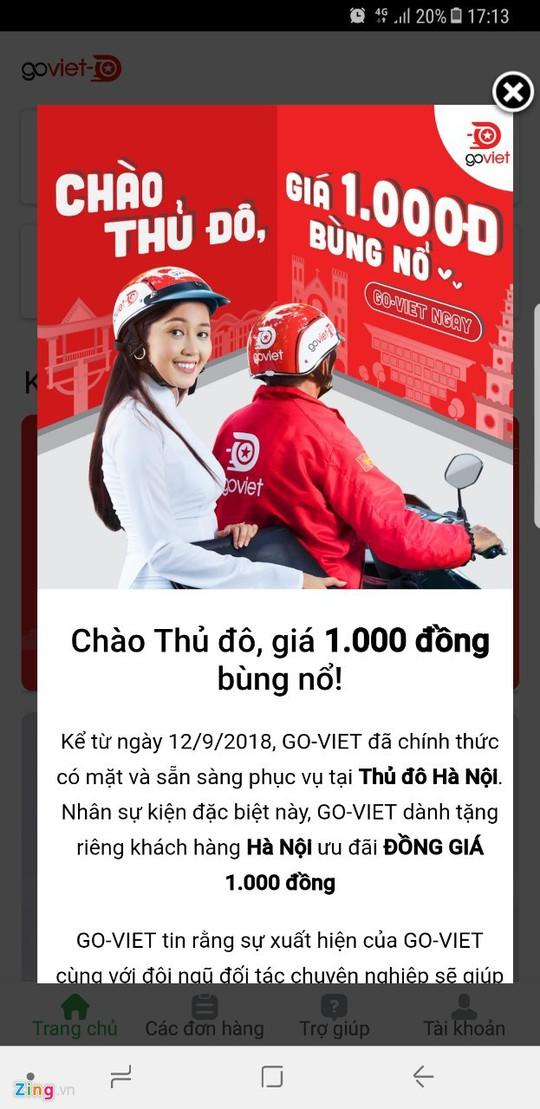 Sau TP HCM, Hà Nội trở thành chiến trường mới của Go-Viet và Grab - Ảnh 1.