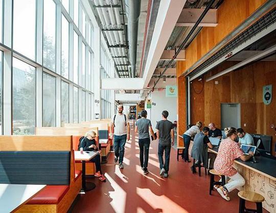 Văn phòng mới của Facebook quá rộng và đẹp - ảnh 3