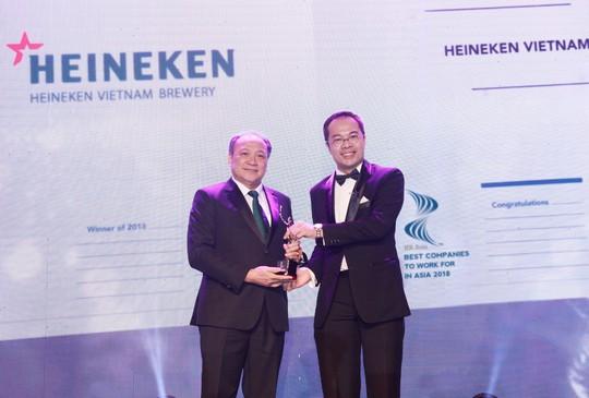 Vinh danh 26 doanh nghiệp có môi trường làm việc tốt nhất châu Á - Ảnh 1.