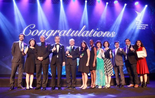 Vinh danh 26 doanh nghiệp có môi trường làm việc tốt nhất châu Á - Ảnh 2.