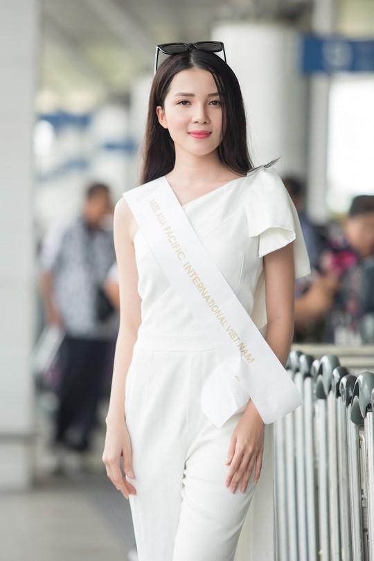 Hoa khôi Huỳnh Thúy Vi dự thi Hoa hậu Châu Á - Thái Bình Dương 2018 - Ảnh 2.