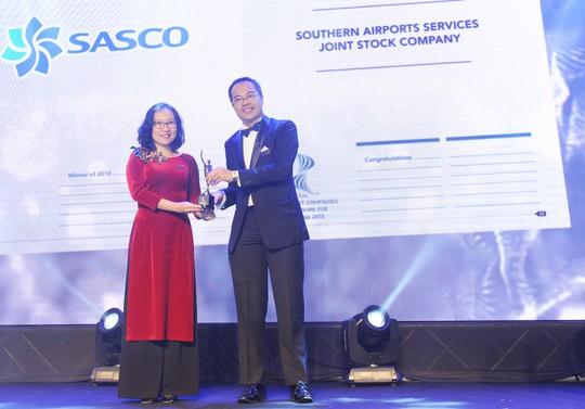SASCO được vinh danh Nơi làm việc tốt nhất châu Á 2018 - Ảnh 1.