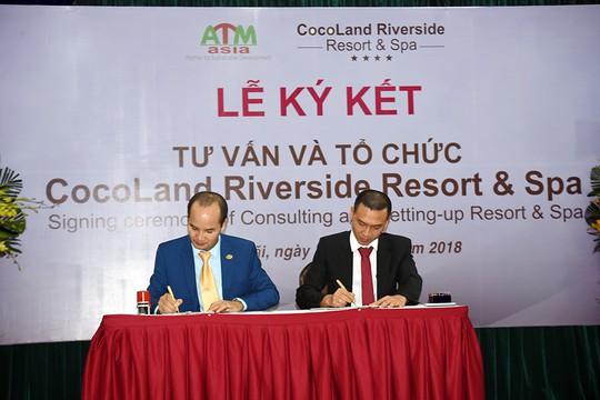 ATM-ASIA làm tư vấn cho CocoLand Riverside Resort & Spa - Ảnh 1.
