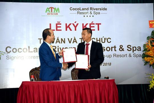 ATM-ASIA làm tư vấn cho CocoLand Riverside Resort & Spa - Ảnh 2.