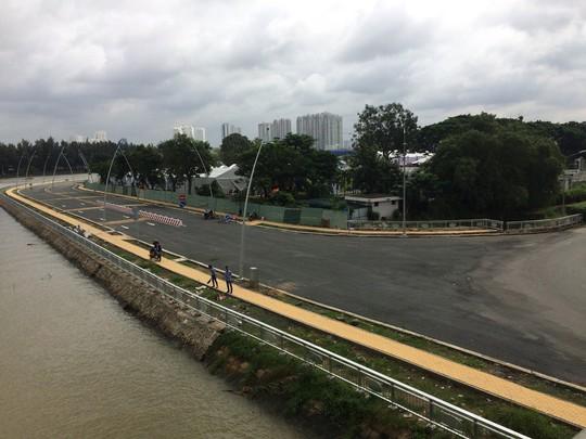 Thêm đường mới giảm áp lực cho tuyến Nguyễn Hữu Thọ - Ảnh 2.