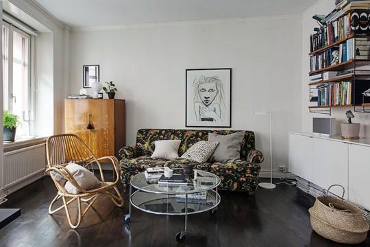 Thiết kế phòng khách thông minh cho căn hộ 60 m2 - Ảnh 2.