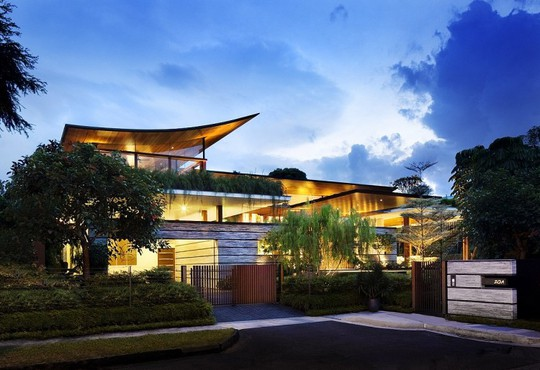 Thăm biệt thự Singapore đẹp như tiên cảnh - Ảnh 9.