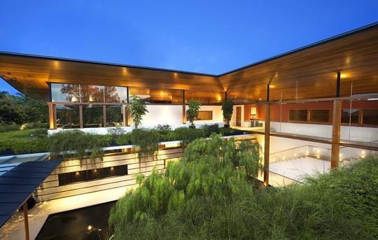 Thăm biệt thự Singapore đẹp như tiên cảnh - Ảnh 10.