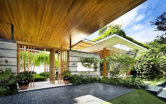 Thăm biệt thự Singapore đẹp như tiên cảnh - Ảnh 3.