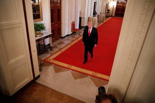 Ông Trump viết bài ẩn danh rung chuyển Nhà Trắng? - Ảnh 1.