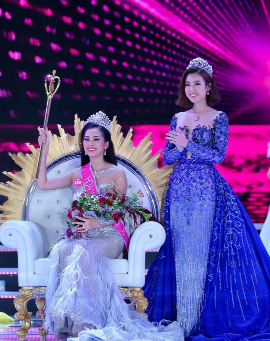 Áp lực của hoa hậu Việt Nam 2018 Trần Tiểu Vy - Ảnh 2.