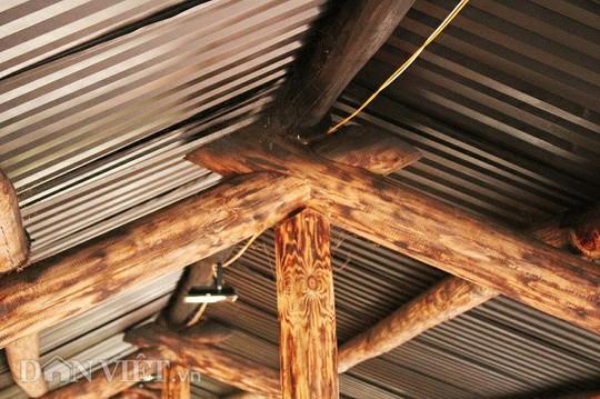 Độc đáo nhà gỗ lớn giữa rừng, không dùng đinh sắt - Ảnh 5.