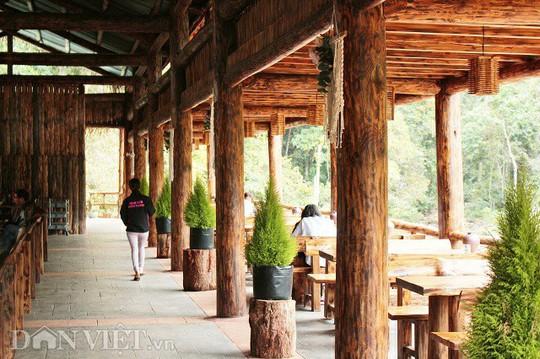 Độc đáo nhà gỗ lớn giữa rừng, không dùng đinh sắt - Ảnh 2.